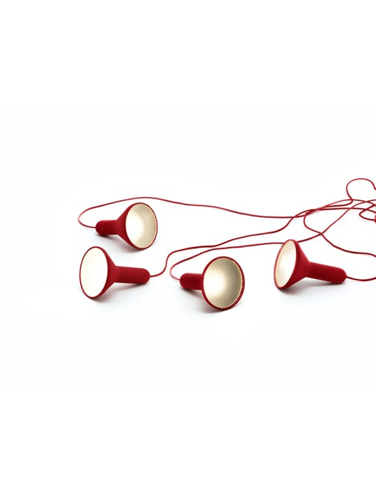 Torch Light Red Established and Sons DesignOrt Onlineshop