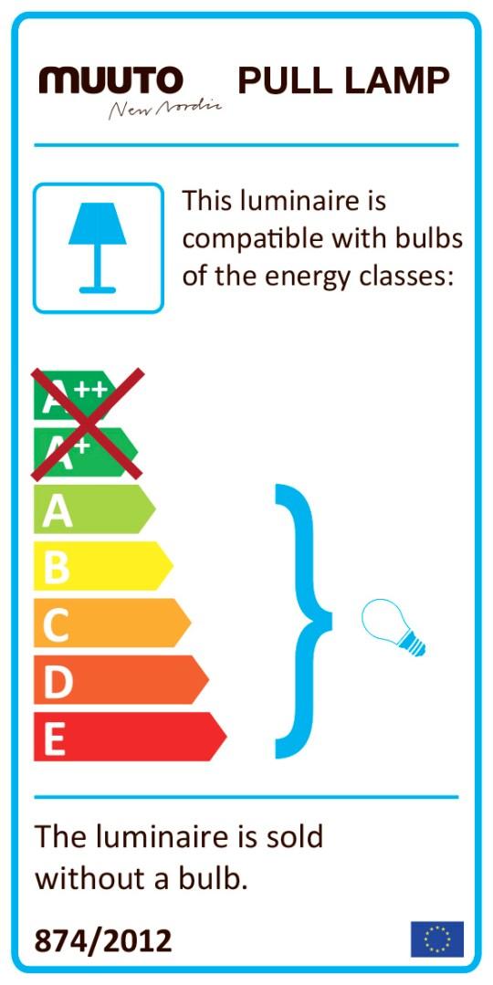 Energielabel Pull Lamp Muuto