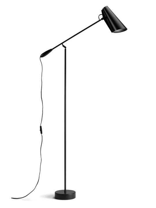 Stehlampe und Leselampe Birdy Floor in all black