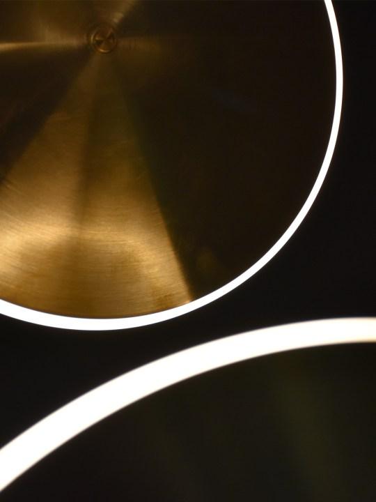 Close Up Chrona Lights Graypants