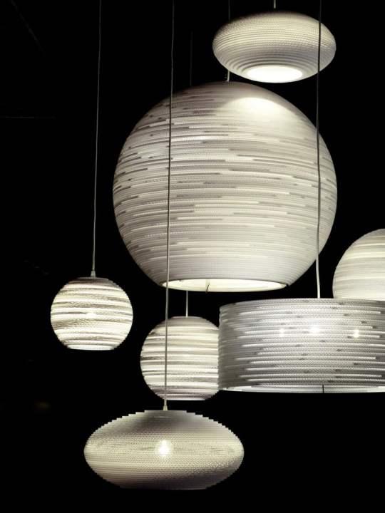arcturus Scraplights frame white Pendellampe Graypants