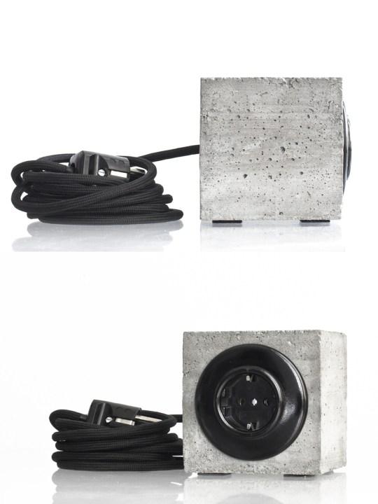 Plug³ coole Verlängerung Schnur mit Stecker Design aus Berlin