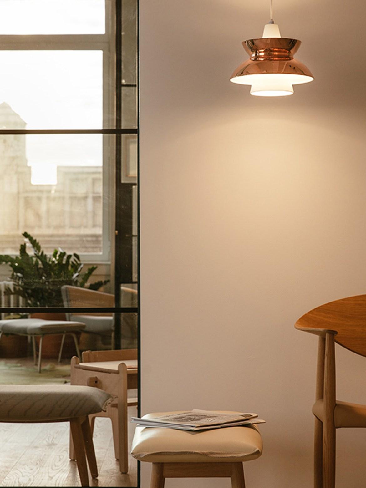 DesignOrt BLog: Kupferleuchten Doo-Wop Lampe Kupfer Poulsen