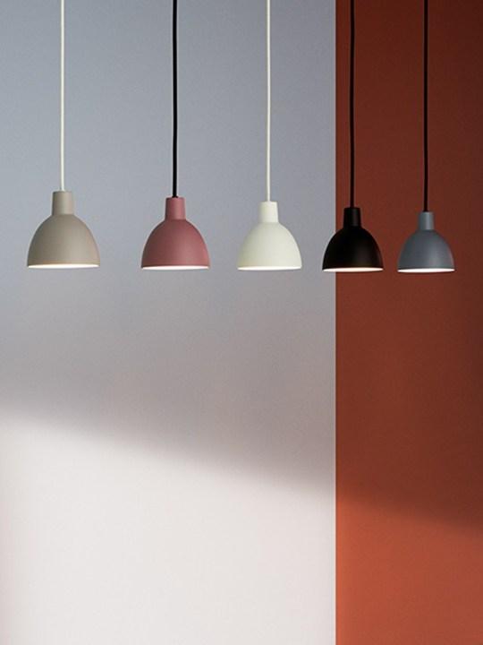 neue Farben Toldbod Leuchten Serie