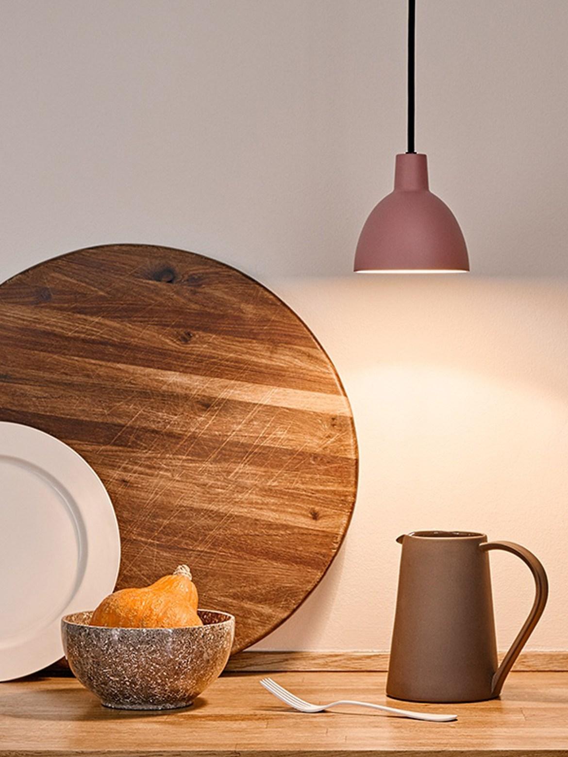 DesignOrt Blog: Designerleuchten von Louis Poulsen für Küche und Esszimmer Rose Toldbod