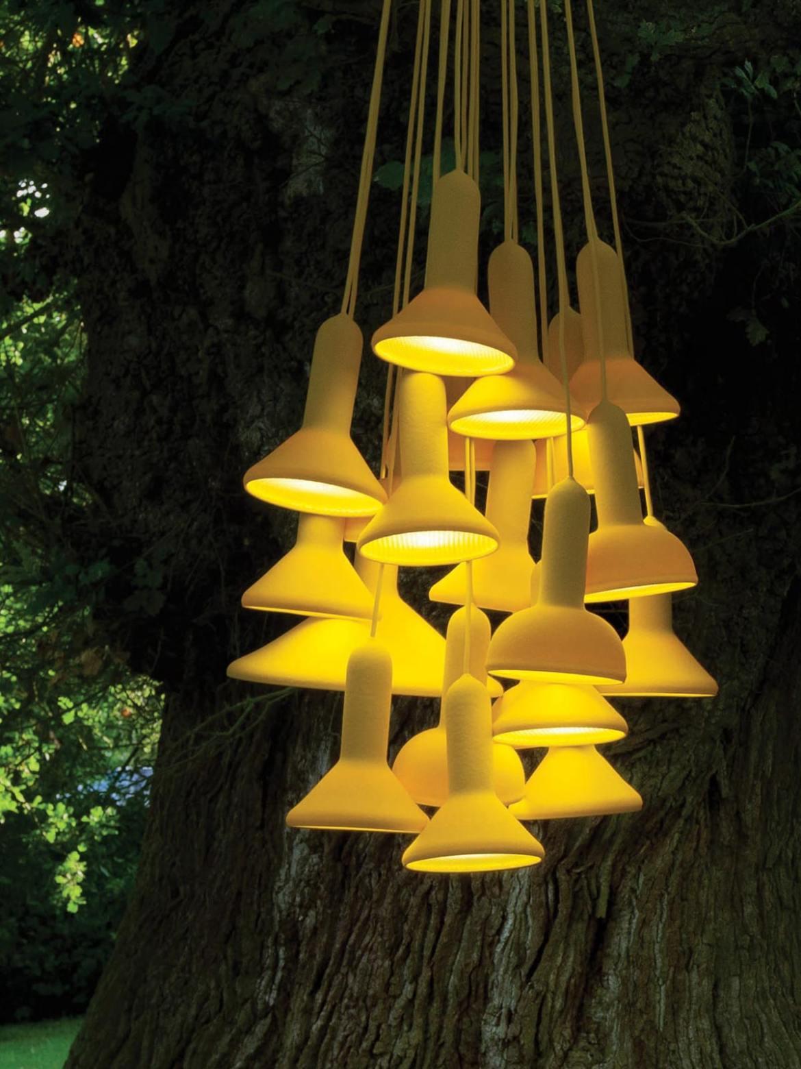 DesignOrt Blog: Moderne Kronleuchter und Lüster Established & Sons Torch Light S20