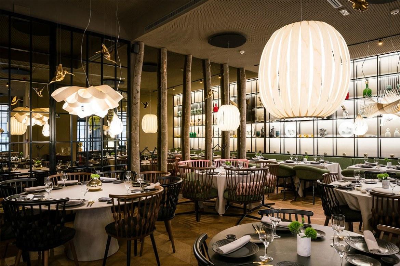 DesignOrt Blog: Gastronomiebeleuchtung von LZF Agatha & Pod