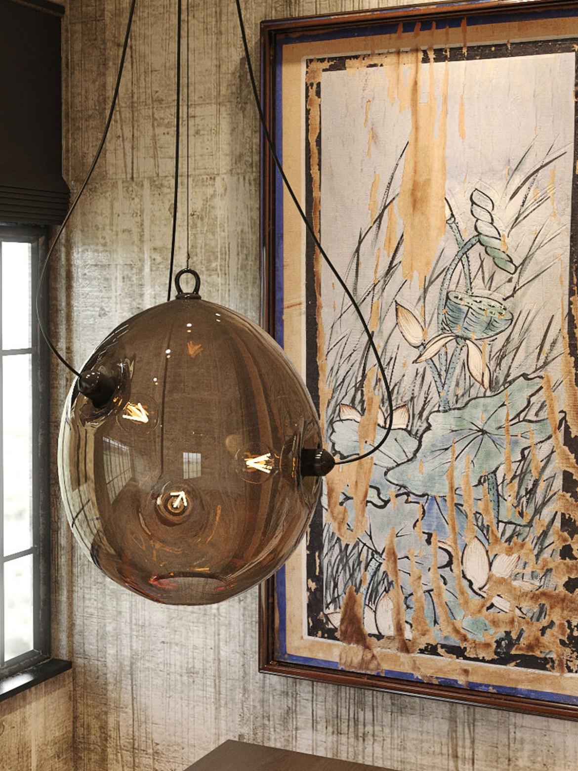 DesignOrt Blog: Pendelleuchten aus Glas Membrane Glaslampe Innermost