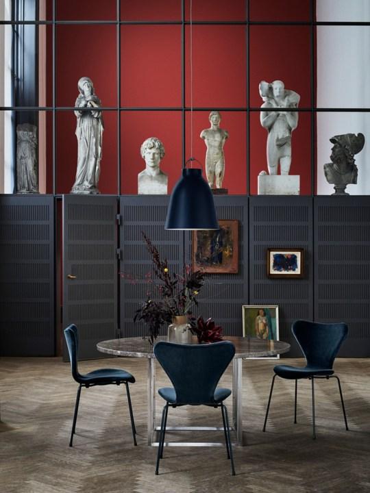 Caravaggio Black Lightyears Republic of Fritz Hansen
