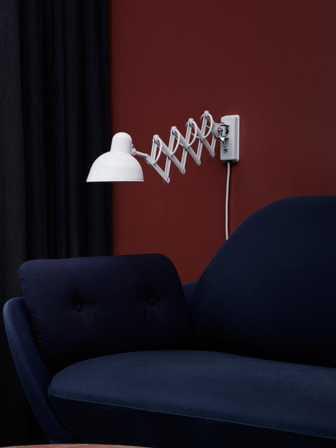 DesignOrt Blog: Die Designwelt von Lightyears Kaiser Idell Scherenlampe Wandleuchte Republic of Fritz Hansen