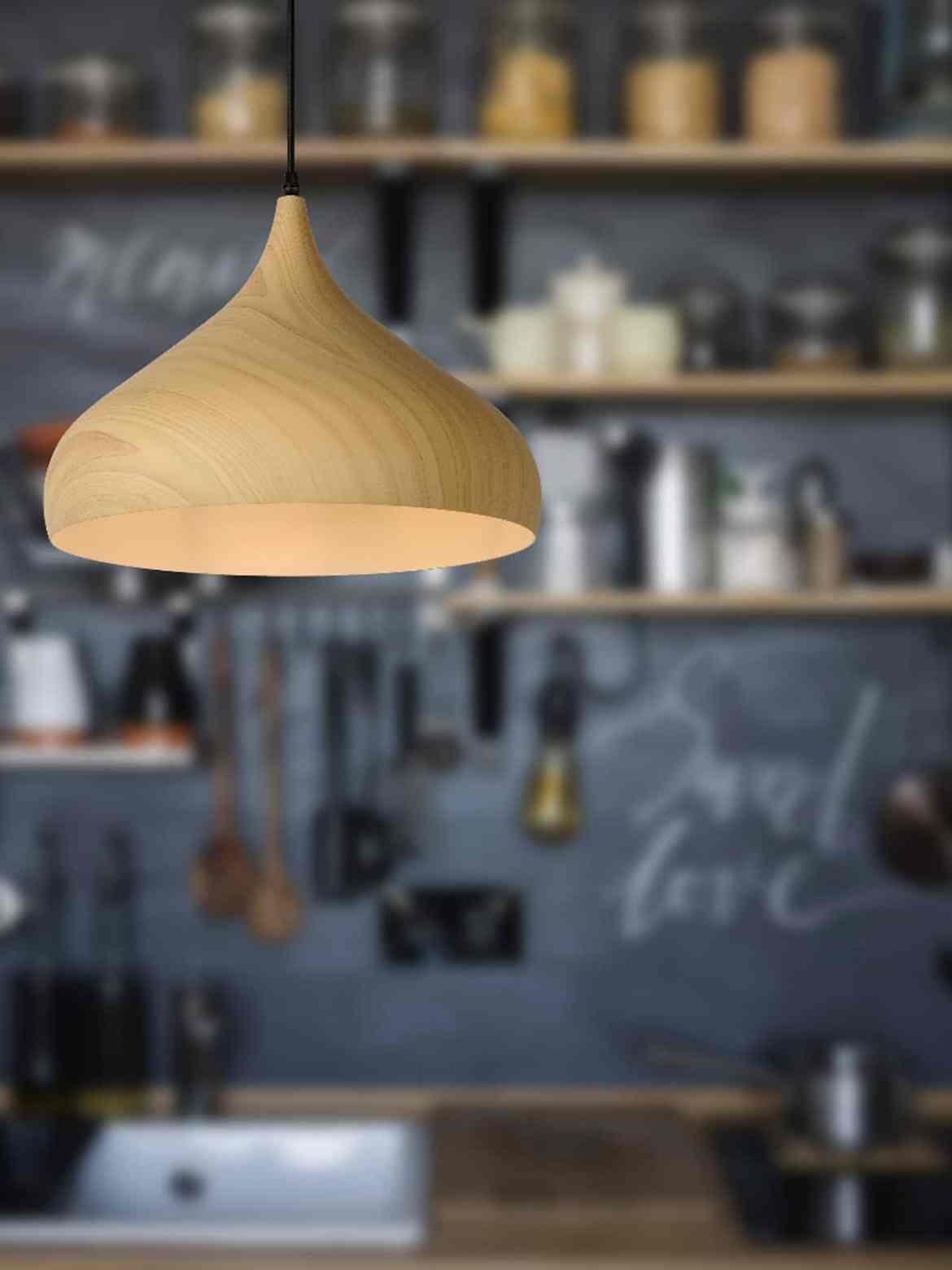 DesignOrt Blog: Die Designwelt von Lucide Woody 42 Designerlampe aus Aluminium im Holzlook