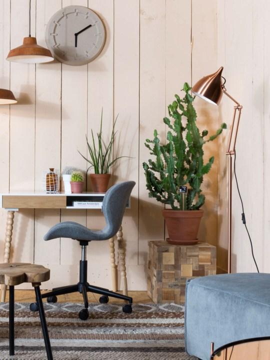 Zuiver Reader Floor Kupfer Stehlampe