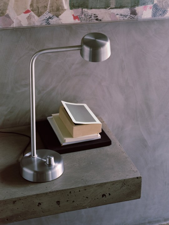 &tradition working title desk lamp by Harri Koskinen