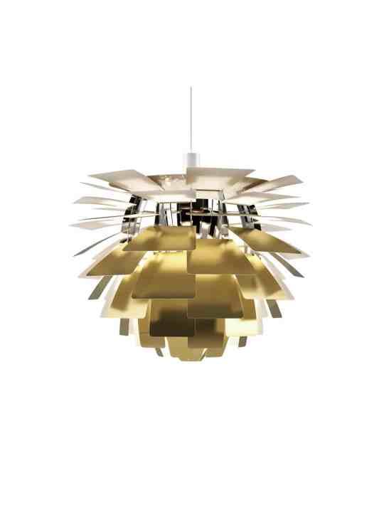 Poulsen Artichoke Messing Lampe