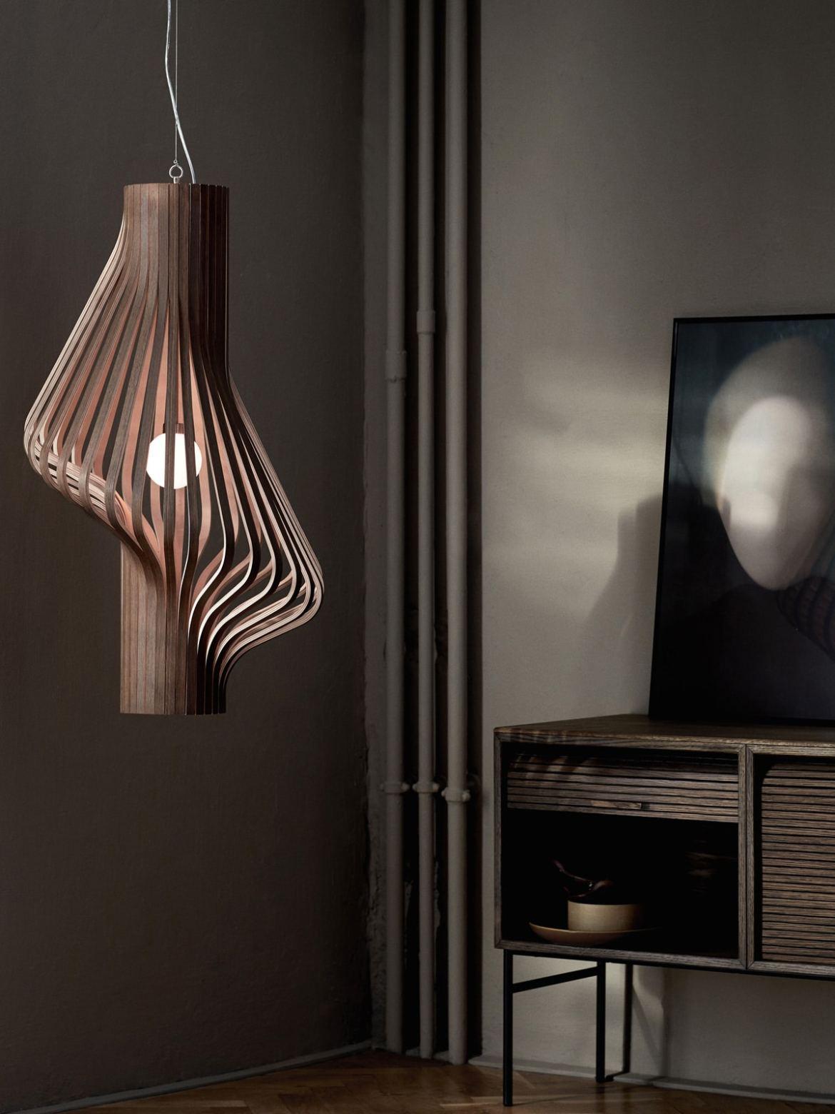 DesignOrt Blog: Holzlampen Diva Northern Lighting