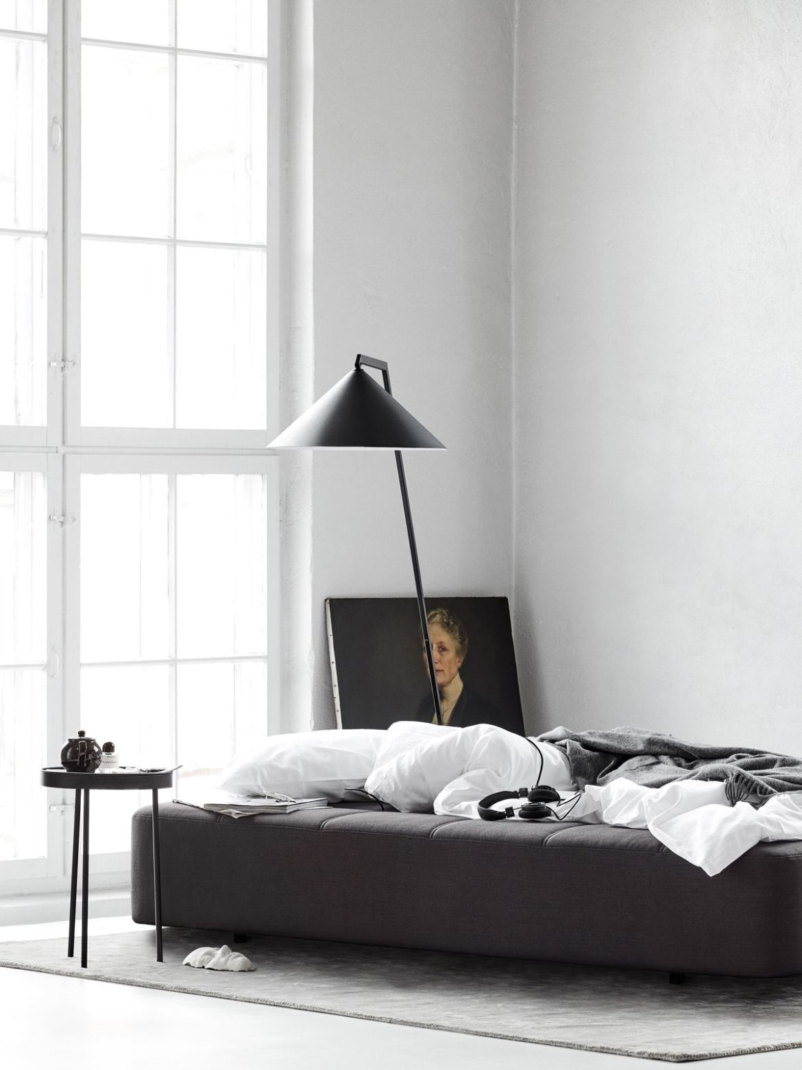 DesignOrt Blog: Bettlampen X Mal Anders Northern Lighting Gear Floor Stehlampe