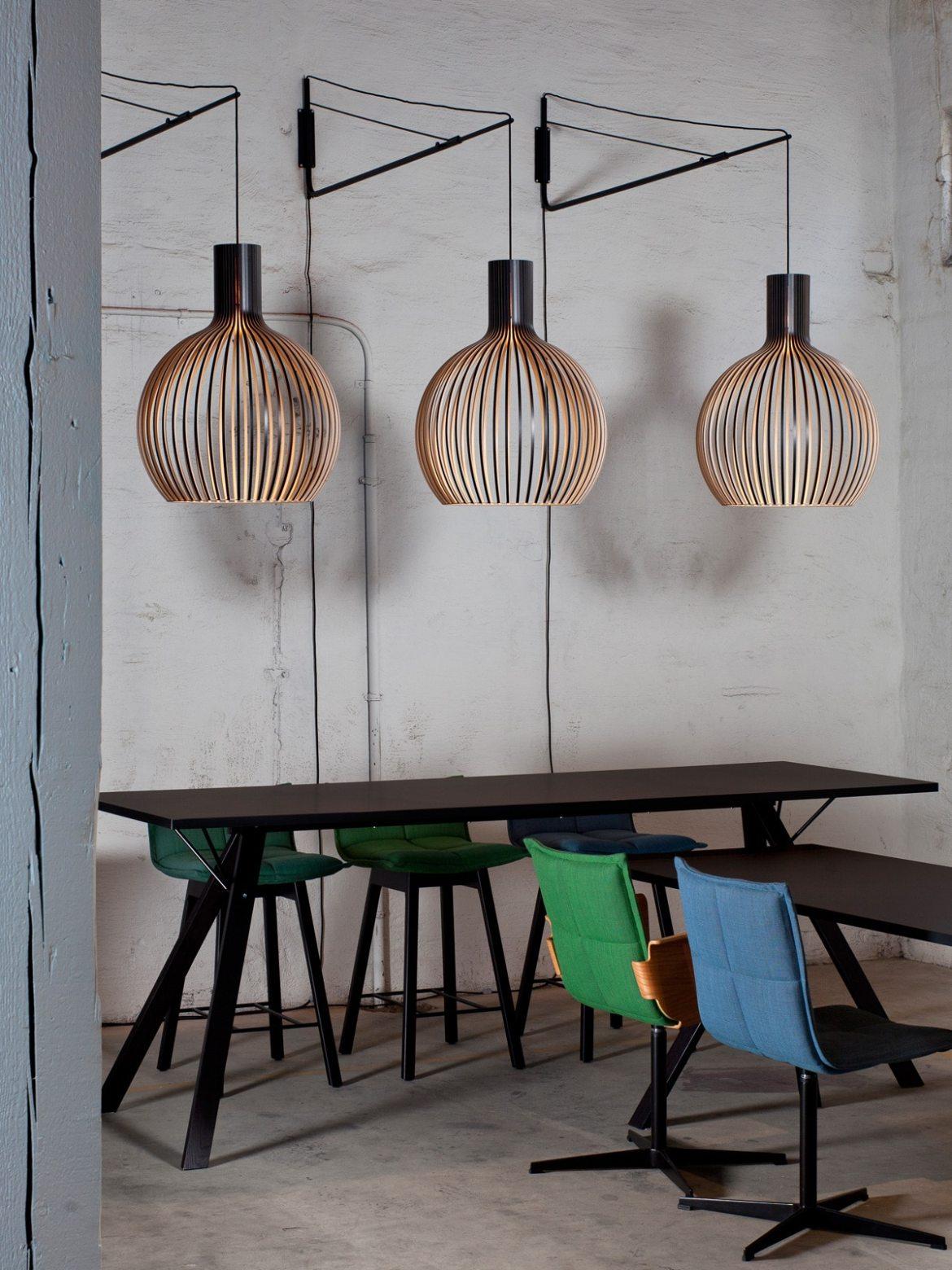 DesignOrt Blog: Neuigkeiten Octo Small 4241 Varsi 1000 Secto Wand Halterung für Secto Leuchten Varsi 1000
