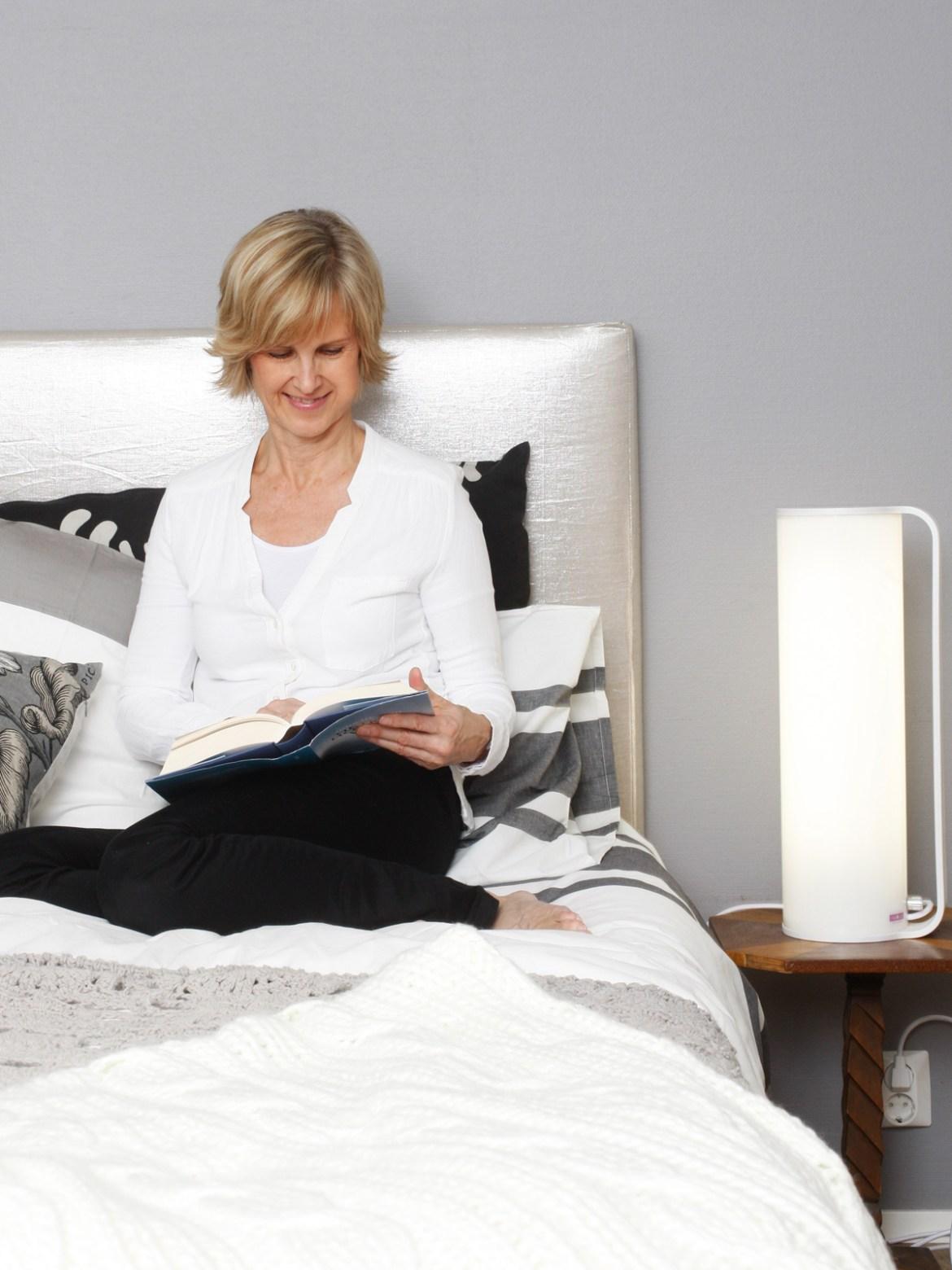 DesignOrt Blog: Bettlampen X Mal Anders Innolux Kubo Therapieleuchte Lichttherapie Tageslichtleuchte Lichtdusche