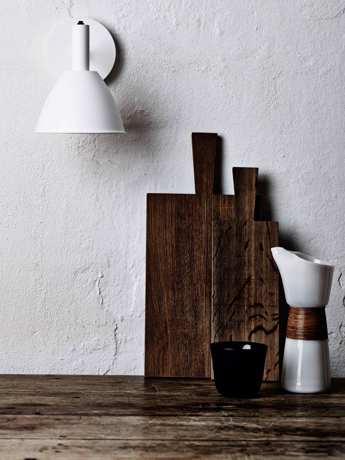 DesignOrt Blog: Designer im Portrait: Fernando Prado Lumini Wandleuchte Bauhaus 90 W