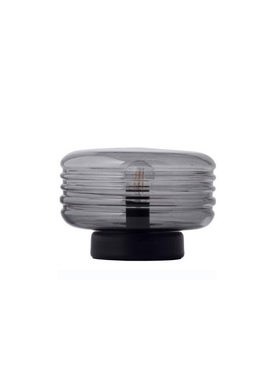 Tischlampe aus Glas Wheels T Frandsen