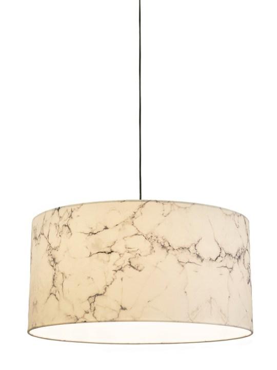 Textilschirm im Marmor Look Marble von Innermost