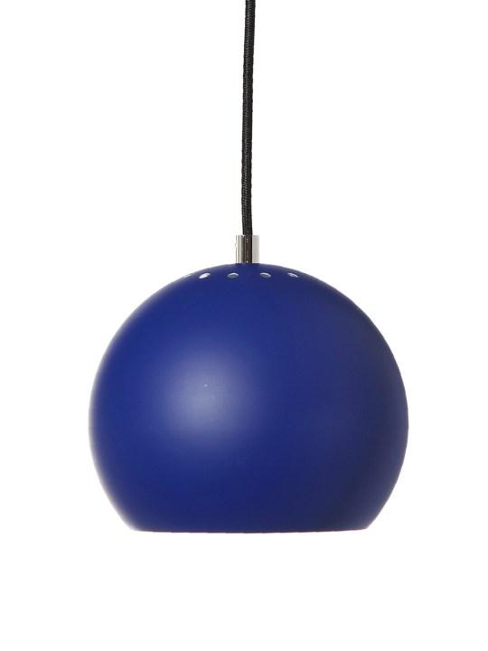 Ball Pendelleuchte in Kobalt Blau Frandsen DesignOrt