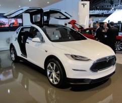 10- Tesla Model X
