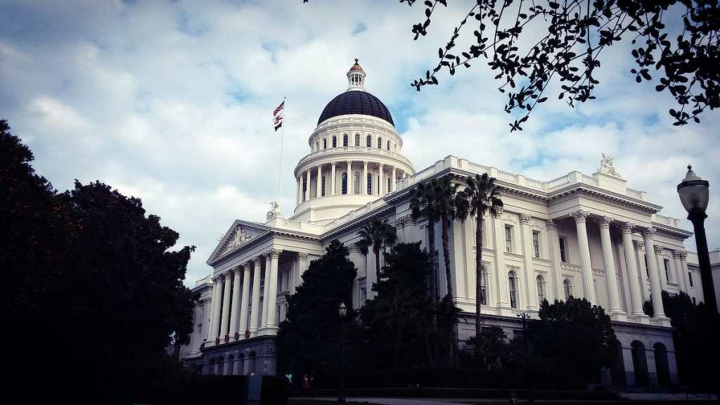 California State Capitol Building Sacramento. Photo © 2018 Reid Walley. All rights reserved.