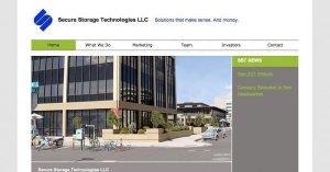 Website Secure Storage PSD to WordPress 800