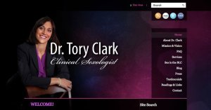 Website Tory Clark WordPress 800