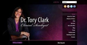 Website Tory Clark WordPress 800
