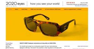 Website Twenty Twenty Eyes PSD to WordPress 800