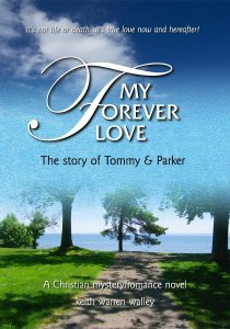 Book cover design: My Forever Love by Keith Warren Walley