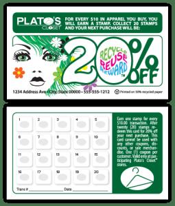 Plato's Closet, Reno - Loyalty Card