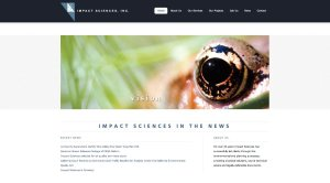 Impact Sciences - WordPress Customization, Convert HTML to WordPress