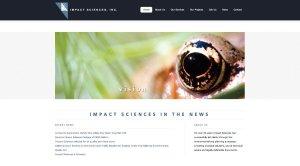 Impact Sciences - WordPress Customization, Convert HTML to WordPress