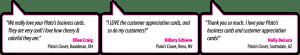 Web graphics - Testimonial comment bubbles