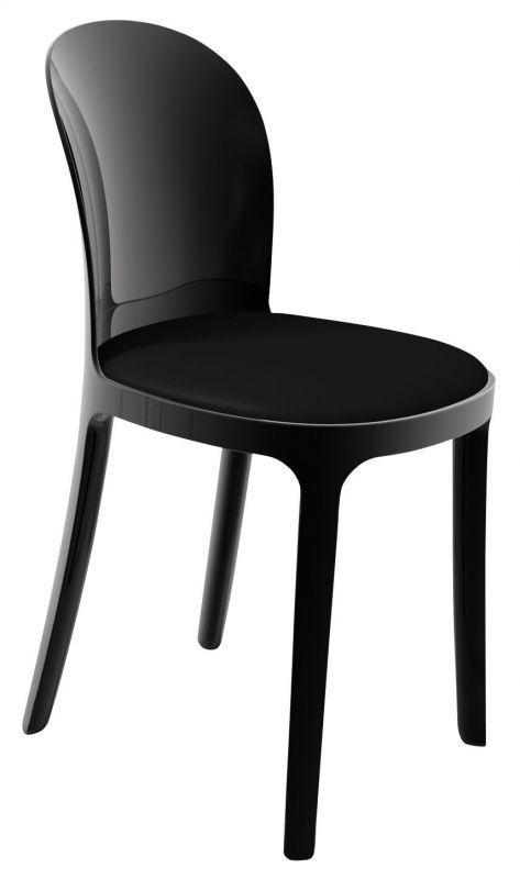 Magis  Vanity chair  Black Opaque