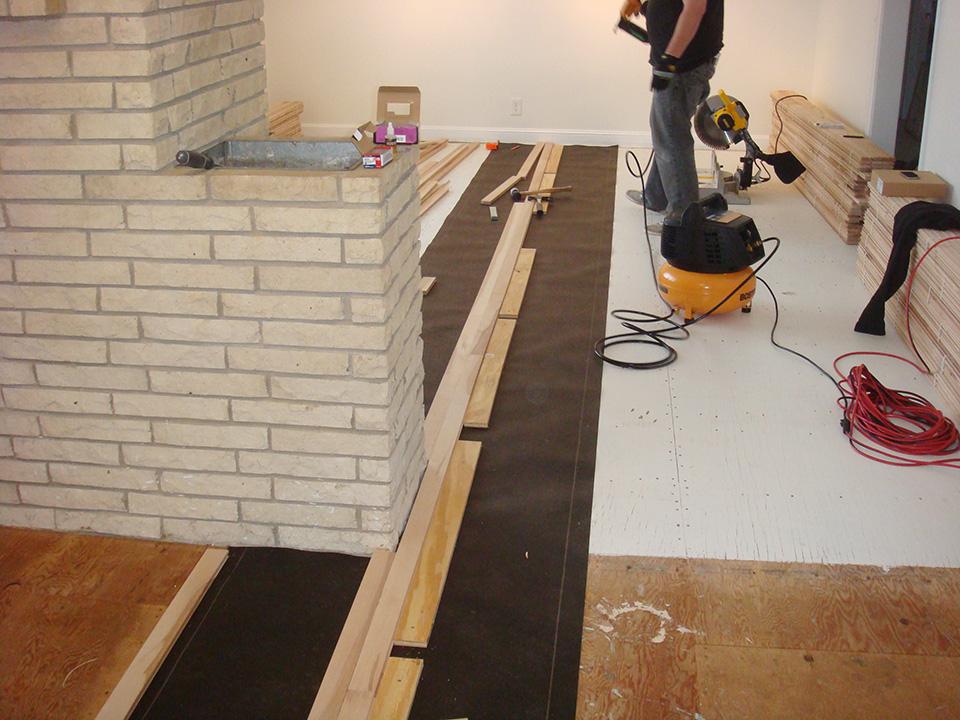 Got Wood Floors Installing Our Hardwood Floors Part 2