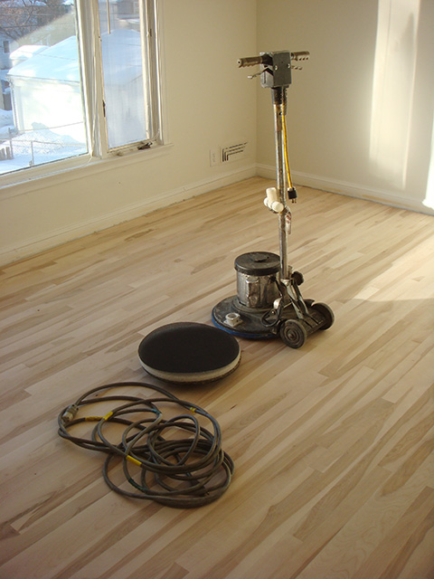 got woodfloors? sealing our hardwood floors (part 3