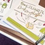 Sketchnote Skizzenbuch und Workshop-Handout
