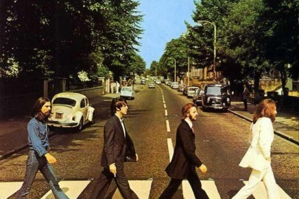 Abbey Road Cover Art, The Beatles