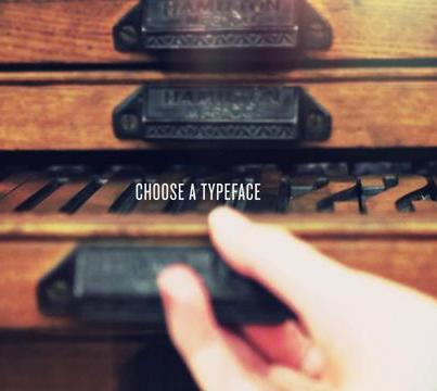 Letterpress, Naomie Ross su Design Playground