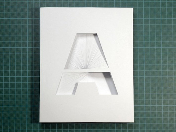 paper typographic sculptures2