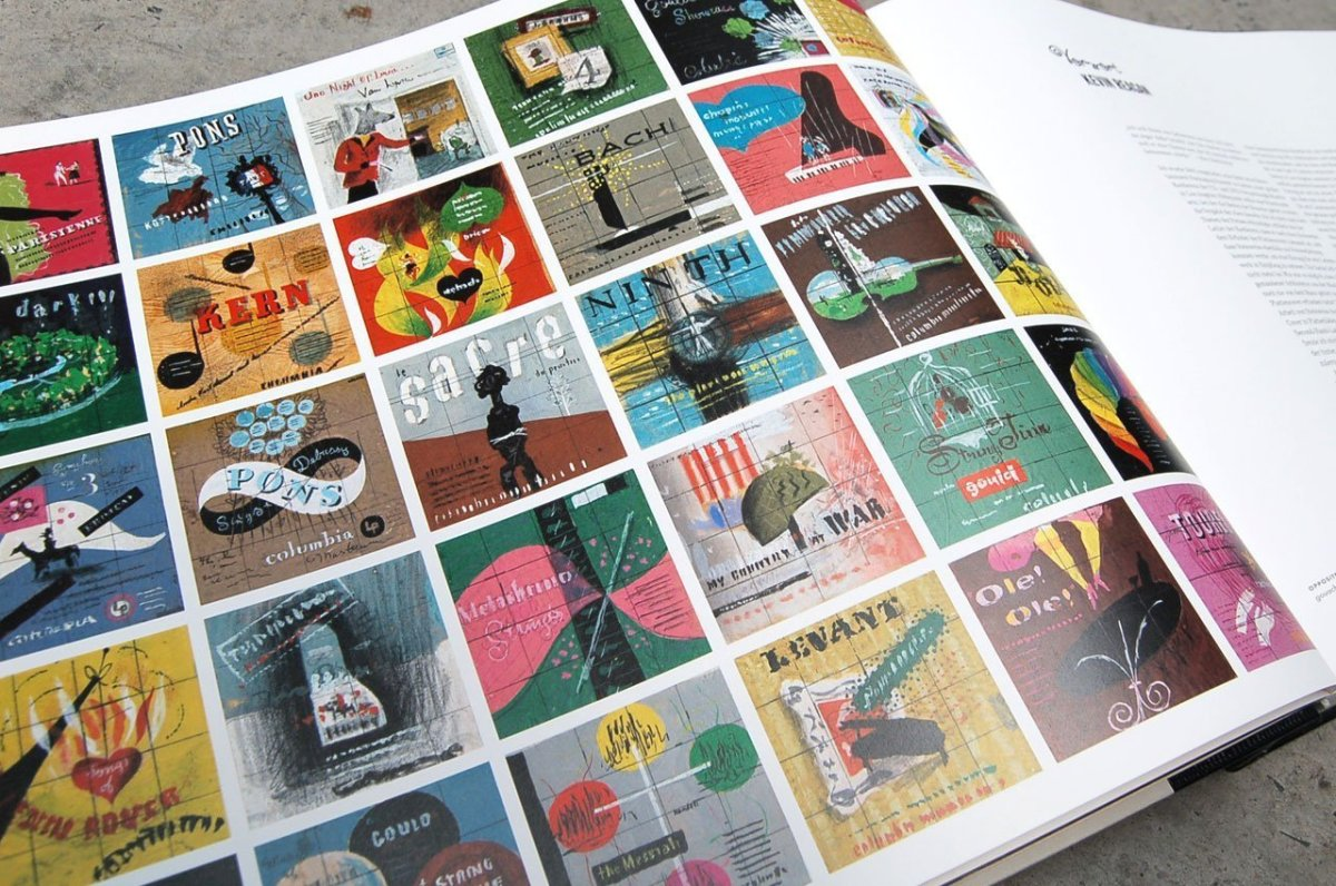Alex Steinweiss, musica per gli occhi: l'inventore della grafica per gli LP