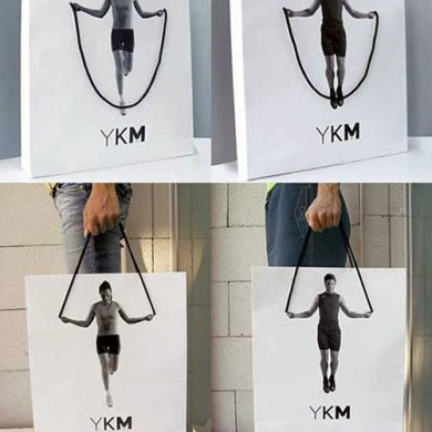 YKM Creative Shopping Bag su designplayground.it