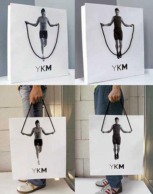 YKM Creative Shopping Bag su designplayground.it