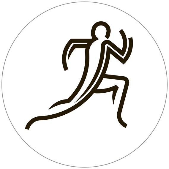 atletica - i pittogrammi di Glasgow 2014 su designplayground.it