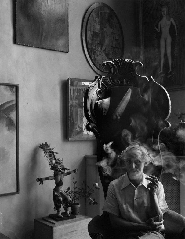 Max Ernst, New York, NY, 1942