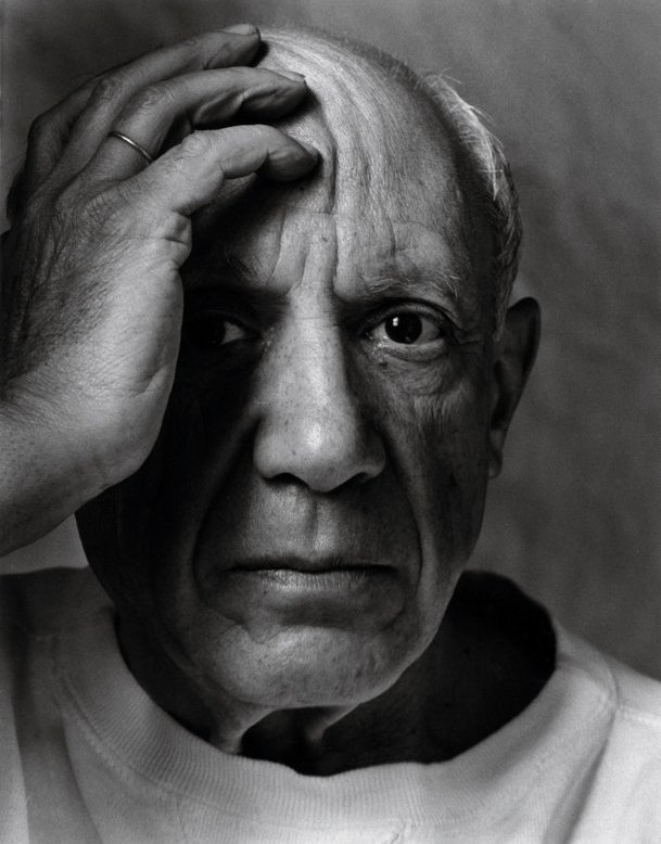 Pablo_Picasso,Vallauris,_France,_1954